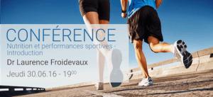 Conférence Nutrition et performances sportives par le Dr Laurence Froidevaux