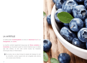 GREEN SMOOTHIE – LES SECRETS DES SMOOTHIES VERTS les myrtilles