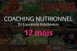 Coaching Nutritionnel 12 mois avec le Dr Laurence Froidevaux | plantastique.com