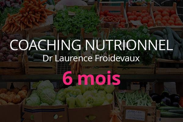 Coaching Nutritionnel 6 mois avec le Dr Laurence Froidevaux | plantastique.com