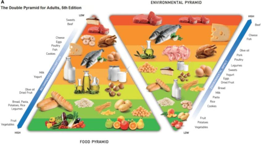 food environment pyramid