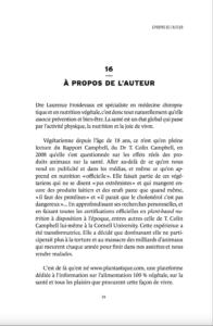 Les mythes de l'alimentation végétale à propos de l'auteur Dre Laurence Froidevaux